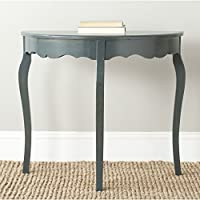 Safavieh American Homes Collection Aggie Steel Teal Console Table