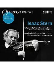 Stern Plays Tchaikovsky Barto