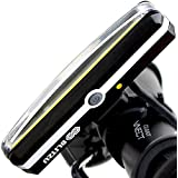 SUPER BRIGHT Bike Light Blitzu Cyborg 168H USB Rechargeable Headlight - Helmet Front Light Accessories. High Intensity LED Fits on any Bicycles. Easy To install for Cycling Safety Flashlight