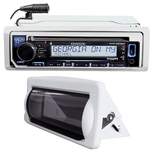 M4a Audio Files (Kenwood KMR-D372BT Marine Bluetooth CD Receiver USB/Android/iPhone+Splash Guard)