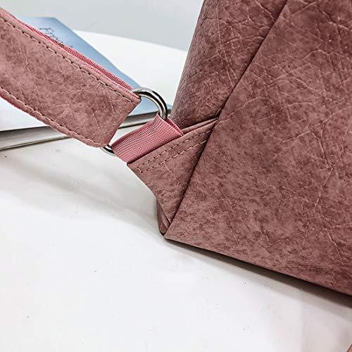 Weatly Pink Escuela Para Pink Bolso Mujer De color 1q1PwB