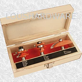 3 PIECE ROUTER BIT SET KITCHEN CABINET DOORS: Amazon.co.uk: Welcome