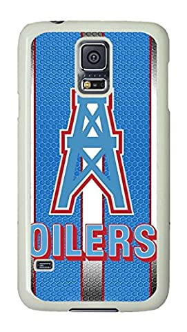 S5 Case, Galaxy S5 Cases, Personalized Houston Texan Brian Cushing Hard PC White Shock-Absorption Bumper Case for Samsung Galaxy (Houston Texans Samsung S5 Case)