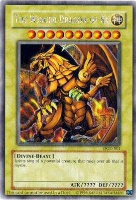 Amazoncom Yu Gi Oh The Winged Dragon of Ra DOD 001 Dawn of