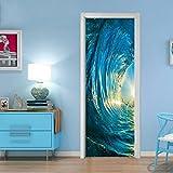 Best Door Stickers - 3d Door Wallpaper, vmree Creative Door Stickers Bedroom Review