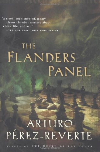 Book cover for The Flanders Panel
