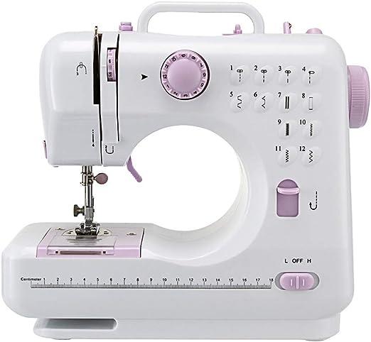 HSRG Máquina de Coser eléctrica, máquina de Costura Artesanal ...