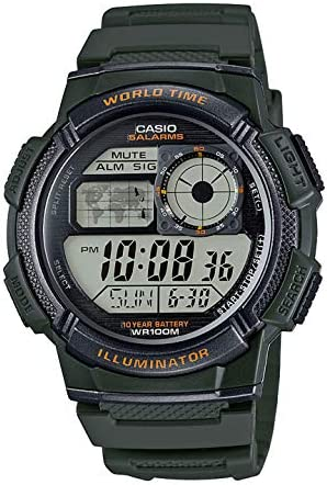 Montre Casio Affichage Digital Bracelet Plastique et  997Ps