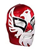 MEXICANO Adult Lucha Libre Wrestling Mask (pro-fit) Costume Wear - RED