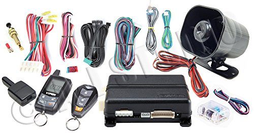 Viper 5305V 2 Way LCD Vehicle Car Alarm Keyless Entry Remorte Start System by Viper