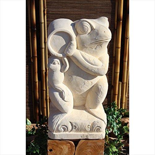 『個人宅配送不可』SIP バリ島 石像 カエル 壷 H600 KAERU-02 B01N0N8YX0