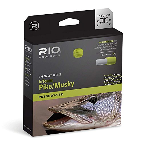 Rio InTouch Pike/Musky Fly Line W/ 2 Pack of Leaders