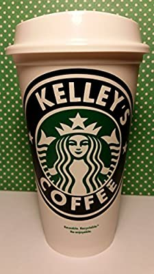 Personalized Starbucks Coffee Cup (PERSONALIZE WITH ANY NAME) by Piece of Cake Parties