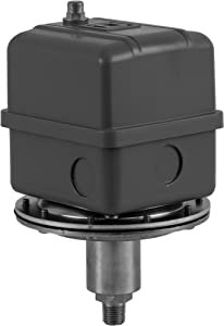"""Square D 9016 Commercial Electromechanical Vacuum Switch, NEMA 1, DPDT, 5-25 in. of Hg Cut-Out Range, 3-8 in. of Hg Settings, 1/4"""" Male Pipe Connection"""