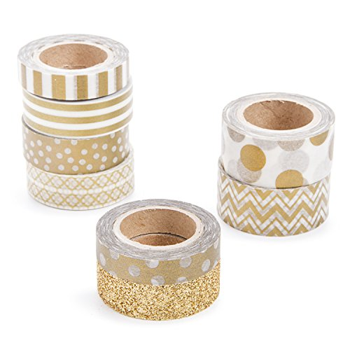 Darice Tape (Darice Gold Washi Tape Assortment)
