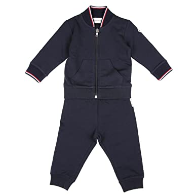 5b3516437a67 Moncler Junior Tuta Bambino Baby Boy Mod. 8807305 18 24M  Amazon.co ...