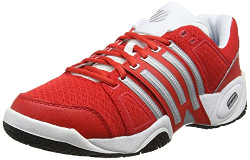 K-Swiss Accomplish II Mesh Omni Fiery - Zapatillas para hombre, color rojo