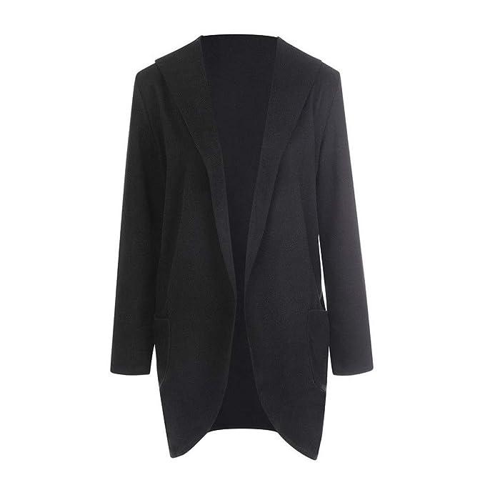 Amazon.com: DongDong - Abrigo para mujer, con capucha, fino ...