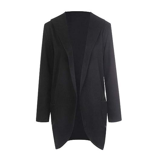 Amazon.com: vermers Clearance Women Woolen Hooded Thin Coat, Ladies Casual Loose Long Sleeve Hoodies Jacket Overcoat Tops: Clothing
