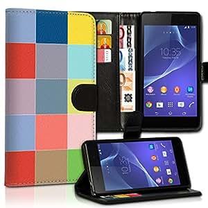 Wallet Wicostar–Funda Case Funda Carcasa diseño Funda para Samsung Galaxy S4i9500/i9505–Diseño Flip mvd170