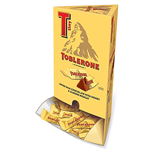 Toblerone Tiny Mini Swiss Chocolate Bars - Fun Size – 100 -