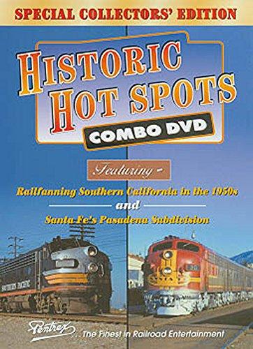 Historic Hot Spots Combo: Railfanning California in the 1950s and Santa Fe's ...