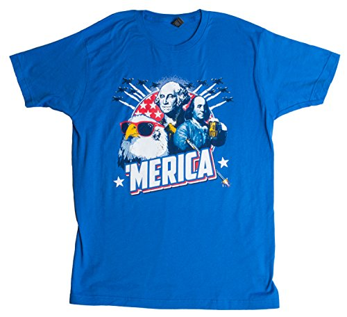JTshirt.com-19653-MERICA | Epic USA Patriotic American Party Patriot Unisex T-shirt-B00EO4UB02-T Shirt Design