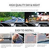 """RED SHIELD Universal Head Up Display HUD Reflective Windshield Film 7.5"""" for All Car Makes and Models. Premium Quality High Definition (HD) Clarity Film. Compatible with HUD Units & Smartphones [2"""
