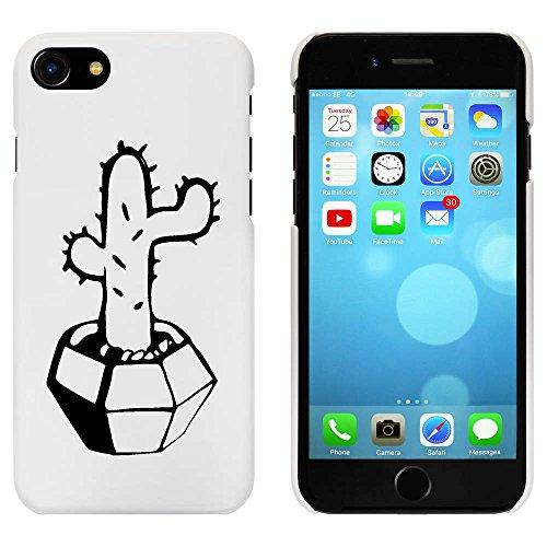Blanc 'Cactus mis en Pot' étui / housse pour iPhone 7 (MC00072648)