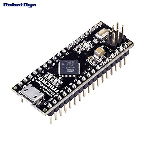 Micro ATmega32U4 (5V, 16MHz). Pins SOLDERED. Compatible with Arduino Micro and Leonardo