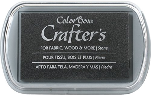 Stone Stamp Pads - CLEARSNAP ColorBox Crafter's Full Size Inkpad, Stone