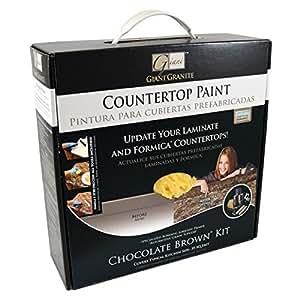 Countertop Paint Brown : Giani Countertop Paint Kit, Chocolate Brown - House Paint - Amazon.com