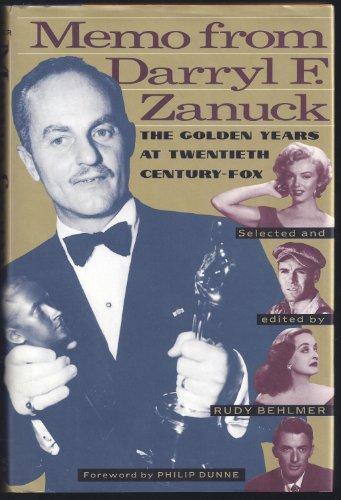 Memo from Darryl F. Zanuck