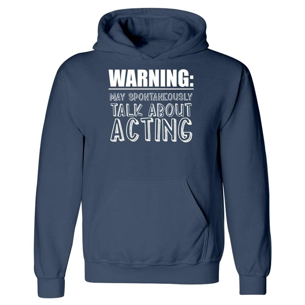 Hoodie MESS May Spontaneously Talk About Acting