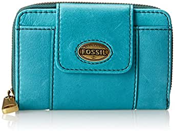 Fossil Explorer Multi Function Wallet,Dark Turquoise,One Size
