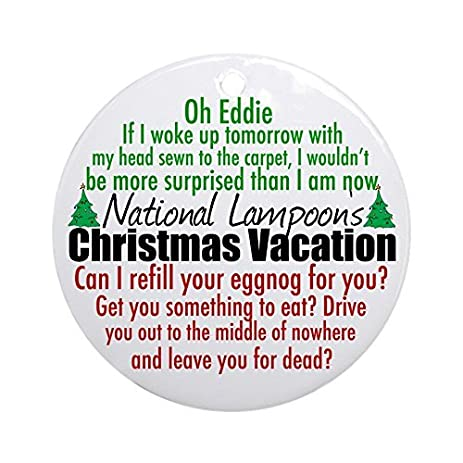 funny ornaments christmas vacation round xmas holiday ornaments for kids christmas tree decorations