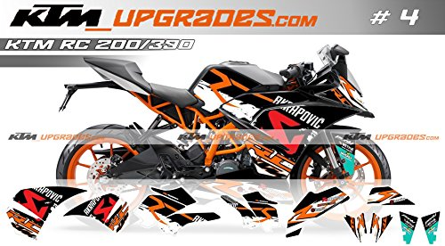 ktmupgrades Decal Set for KTM RC 200/390: Amazon in: Car