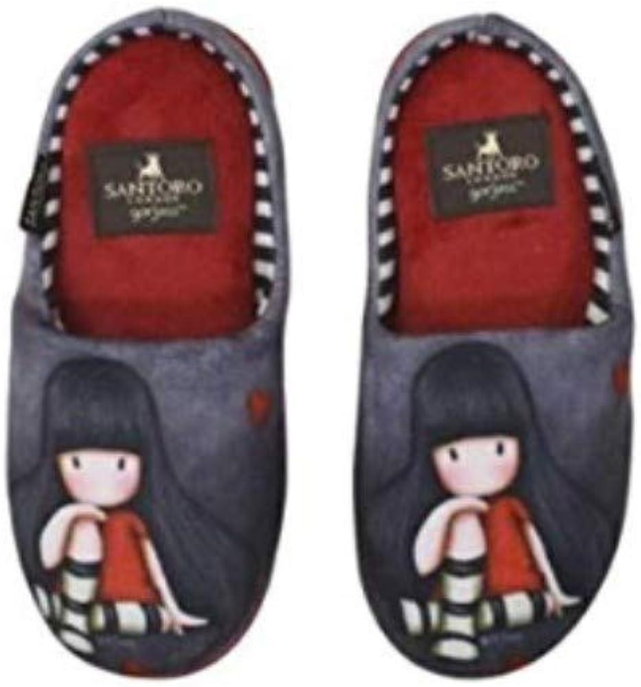Santoro Gorjuss Pantuflas de invierno The Collector – Varios tamaños disponibles Multicolor Size: 37/38 EU: Amazon.es: Zapatos y complementos