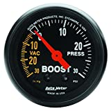 Auto Meter 2614 Z-Series 2'' Boost Gauge