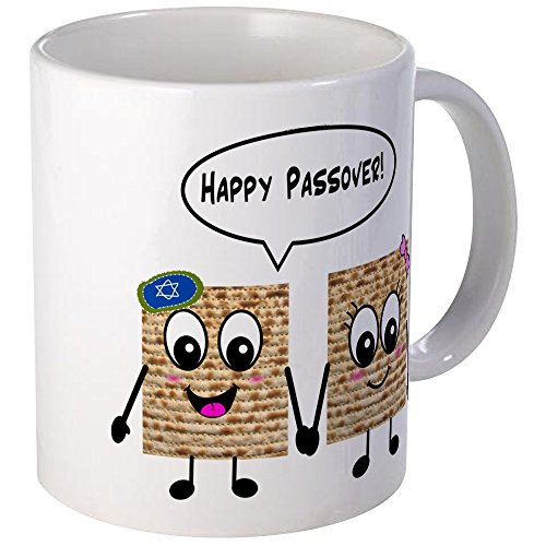 CafePress Happy Passover Matzot Mug Unique Coffee Mug, Coffee Cup