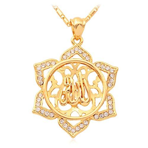 Vintage Islamic Jewelry Rhinestone Necklace