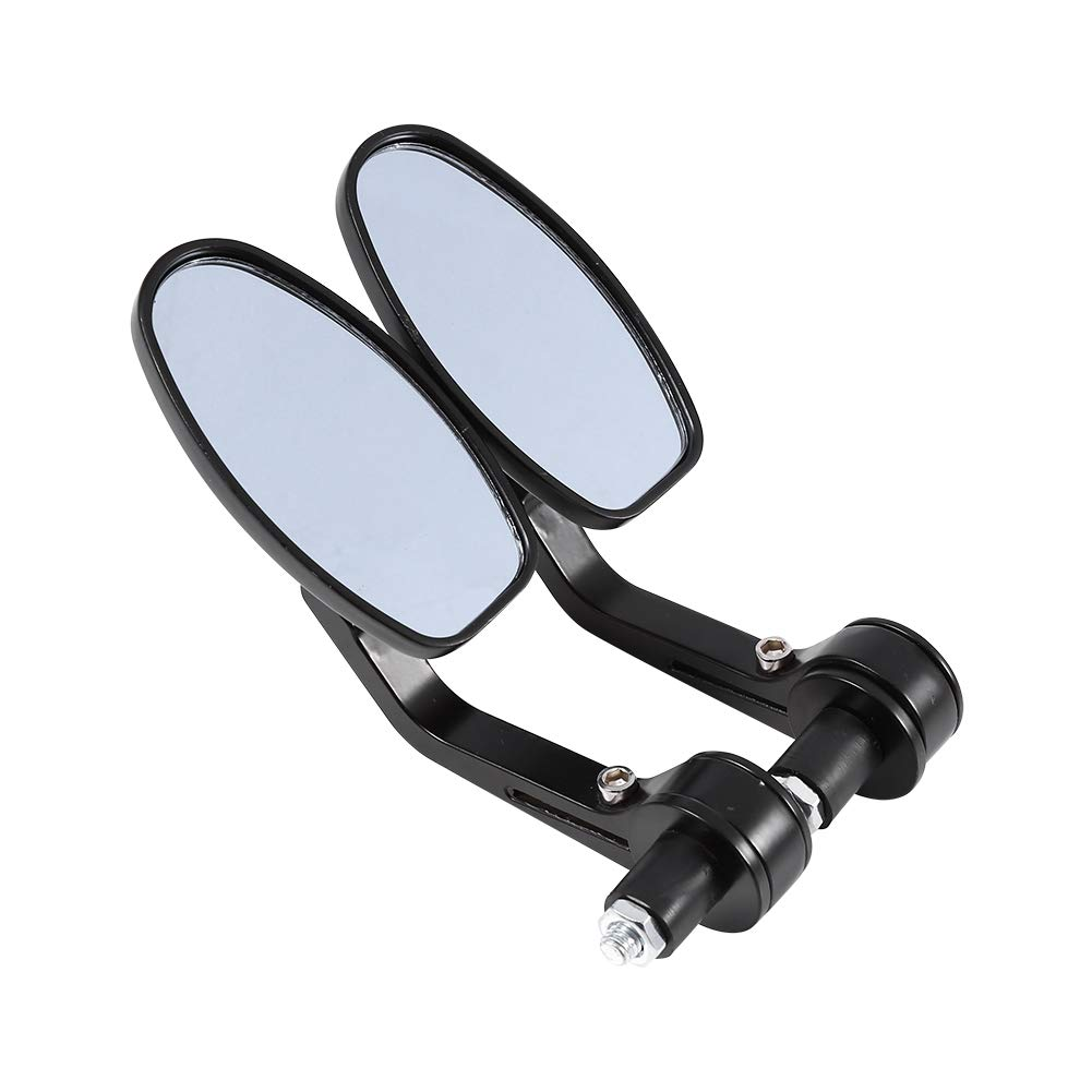 Mofa Zerone Fahrradspiegel 2pcs Flexibel Universal Spiegel Lenkerspiegel 360/° Drehung Fahrradspiegel R/ückspiegel Set f/ür Fahrrad Roller Schwarz Rollstuhl Rollator