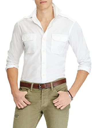 023bcc57c742 Image Unavailable. Image not available for. Color  Polo Ralph Lauren Chino  Sport Shirt ...