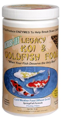 Microbe Lift MLLWGSM 12 Oz Koi Legacy™ Cold Weather Fish Food by Ecological Labs