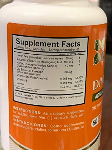 DIVI HER, 4 Bottles 240 CAPS Weight Loss Helps Control Appetite and Food Cravings by DIVI-HER (Image #3)