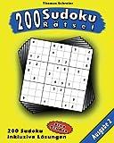 200 Sudoku Rätsel, Ausgabe 2, Thomas Schreier, 1491044012