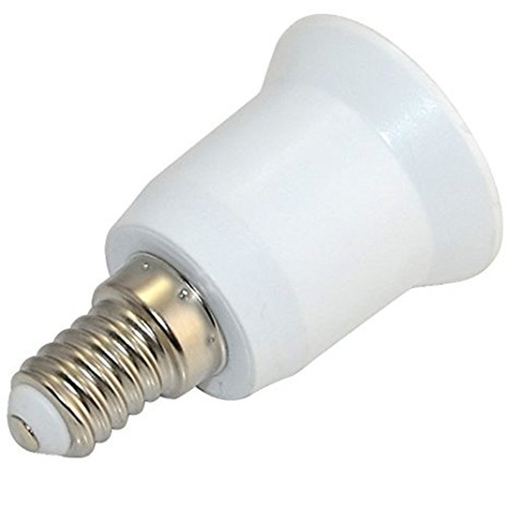 westeng Changing Chandelier E14to E27Socket Adapter (E14) to Medium Socket (E27) Converter Bulb Change Screw Maximum Power 1000W, 200& # x2103; Heat Resistant, Without Risk Of Fire Unico Tamano A