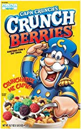 Cap\'N Crunch\'s Crunch Berries, 18.7-Ounce Boxes (Pack of 5)