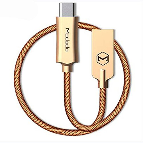 Iphone Charger Cable ,Coan Smart LED Auto Disconnect Lightning Cable Compatible Iphone X iphone 8 7 / 7 Plus 6 /6 /6Plus 5s ipad ipod (gold 4ft)