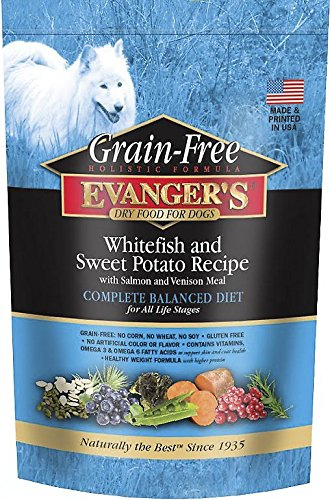 Evangers Whitefish And Sweet Potato Formula Dry Food For Dogs, 4.4 Lbs Review